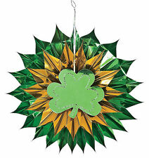 Irish METALLIC Shamrock Foil Burst ST PATRICK'S DAY DECORATIONS party