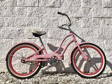 Electra Hawaii Kids Youth Beach Cruiser Bicycle ~ Pink ~ 20� Wheels ~ Cute
