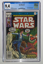Star Wars #10 CGC 9.4 White Pages 1978