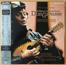 "1991 ""Laserdisc"" Mozart Don Giovanni Cologne Opera PILC-1122 Japan Thomas Allen"