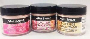 Mia Secret Acrylic Powder - Cover Beige/Pink/Rose 1 oz - 3 pcs set