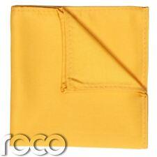Amarillo de los muchachos bolsillo cuadrado, Pañuelo Niños, PAÑUELO DE BOLSILLO