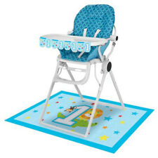 1st BIRTHDAY One is Fun Boy HIGH CHAIR DECORATING KIT ~Party Supplies Room Decor