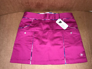 Pahr Skort Short Skirt Golf Tennis Pink New With Tag Size 8