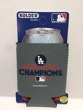 MLB LA Dodgers National League Champs 2017 Kolder Koozie Can or Bottle Holder
