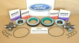 Ford F250 F350 Superduty 2005-2014 Front Axle Seal And Greaseable U Joint Kit