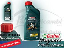 OLIO MOTORE CASTROL MAGNATEC PROFESSIONAL 5W-30  A5 ACEA A5/B5 1 LITRO