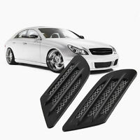 Car Side Air Flow Vent Hole Cover Fender Intake Grille Decoration Sticker SF