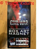 Hot Toys Civil War Captain America Box Art Magnet Box 10 of Set NEW