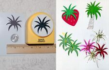 MEGA Size BURST Paper Punch-Fireworks-Strawberry Top-Palm Trees Punch Art