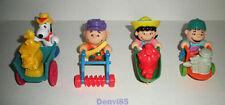 VINTAGE! 1990 McDonalds PEANUTS Complete Set of 4 Toys!