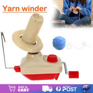 Swift Yarn Fiber String Ball Wool Winder Holder Hand Operated Yarn Winder AU