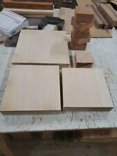 9 Platter Bowl Clear Pine Beech, Mahogany, Turning Wood Quality No Cracks/Knot