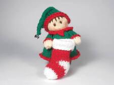 Girl Elf Bitsy Baby Knitting Pattern