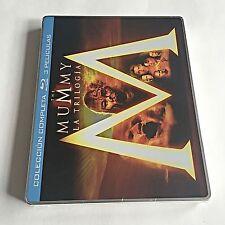 The Mummy Trilogy Blu-Ray Steelbook [Spain] Region Free! ONLY ONE ON EBAY! RARE!