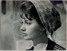 Photo Pierluigi - Sylva Koscina - Tirage argentique d'époque - 1965 -