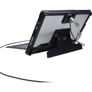 NEW CTA Digital PAD-SCKS Security Case with Kickstand Anti-Theft Cable for