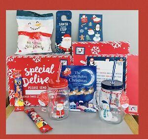 CHILD'S CHRISTMAS GIFT HAMPER BOX GIRLS BOYS CHRISTMAS EVE GIFT BOX SWEETS/CHOCS