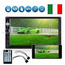 "AUTORADIO  7"" Pollici TFT HD Touch Screen BT/TF/USB MP5  50x4  TELECOMANDO"