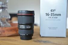Canon EF 16-35 mm F/4.0 L EF IS USM Objektiv - sehr guter Zustand - OVP