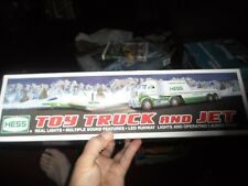 2010 HESS TOY TRUCK AND JET - BRAND NEW IN BOX