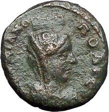 MARCIANOPOLIS Markianopolis Pseudo-Autonomous Tyche Cybele Greek Coin i48862