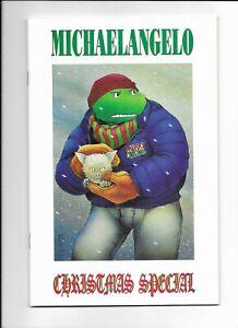 Teenage Mutant Ninja Turtles TMNT Michelangelo Christmas Special Mirage 1990