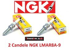 4313 - 2 Candele d'accensione NGK LMAR8A-9 per YAMAHA MT-07 700 ABS dal 2014 >16