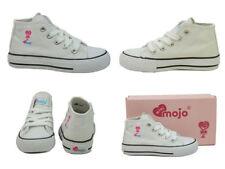 Chaussures de tennis blancs pour fille de 2 à 16 ans