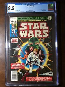 Star Wars #1 (1977) - Premiere Issue!! - CGC 8.5 - Key!