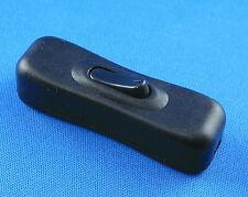 Zwischenschalter 1 polig 2A 250V, Schwarz