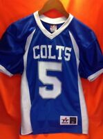 Colts #5 ROTH Youth Medium Football Jersey Alleson Athletic