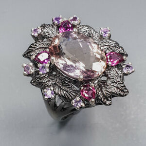 Handmade Jewelry Ametrine Ring Silver 925 Sterling  Size 8 /APBJ-R0131
