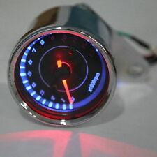 Universal Motorcycle LED Digital Tachometer Speedometer Tacho Gauge 12V
