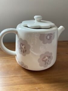Cath Kidston  Grey Pink Floral Teapot Afternoon Tea RRP £30