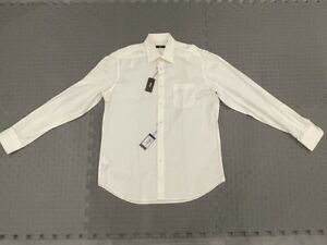 Hugo Boss White Dress Shirt New With Tags