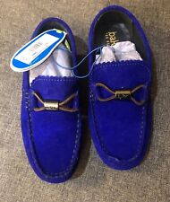 1100e7f14a0a Ted Baker Boys Suede Slip On Shoes New with Tags UK Size 1 Eur 33