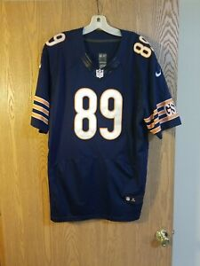 Mike Ditka #89 Chicago Bears Sewn Nike On Field Jersey Size 52 EUC