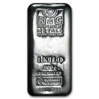 1 kilo Silver Bar - Republic Metals Corp. (RMC) - SKU #89402