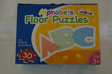 ALPHABET FLOOR PUZZLE -EDUCATIONAL -30pcs - 65 x 35 cms - New Never Used