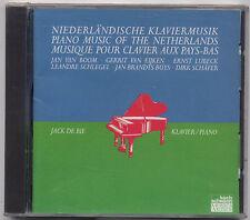 Piano Music of the Netherlands: Boom Eijken Lubeck - De Bie KOCH SEALED