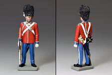 KING And Country cerimoniale con facilità danese Life Guard Nappa Rosso ce16-1 ce016-1