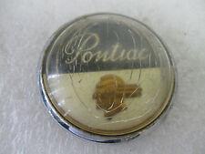 """PONTIAC"" HORN BUTTON  Emblem Trim Script   Badge  Ornament Nameplate  brand"