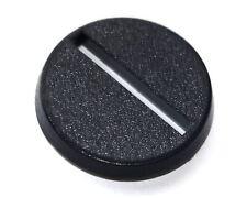 25mm Round Plastic Slotta Wargamming Bases x40
