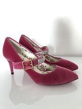 Gucci Sylvie Crystal Embellished Rose Pink Velvet Pumps 39 RP£725 Marmont Ace