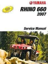 2004 – 2007 Yamaha YXR660F Rhino Side X Side Service Manual : LIT-11616-RH-68