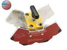 Multi-angle 45°/60°/75°/90°/105°/135°/120°Magnetic Welding Clamp 265lbs w/switch