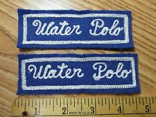 Vintage Stitched Water Polo Patches (2)