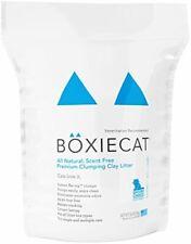 New listing Boxiecat Premium Clumping Cat Litter - Scent Free - Clay Formula - Ultra Clean L