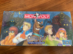 Scooby-Doo Fright Fest Edition Monopoly NEW Sealed